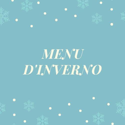 menù d'inverno