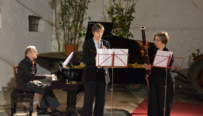 esibizione flauto e pianoforte