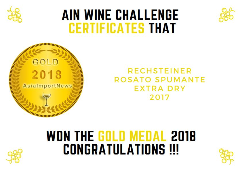AIN 2018 Rosato Spumante