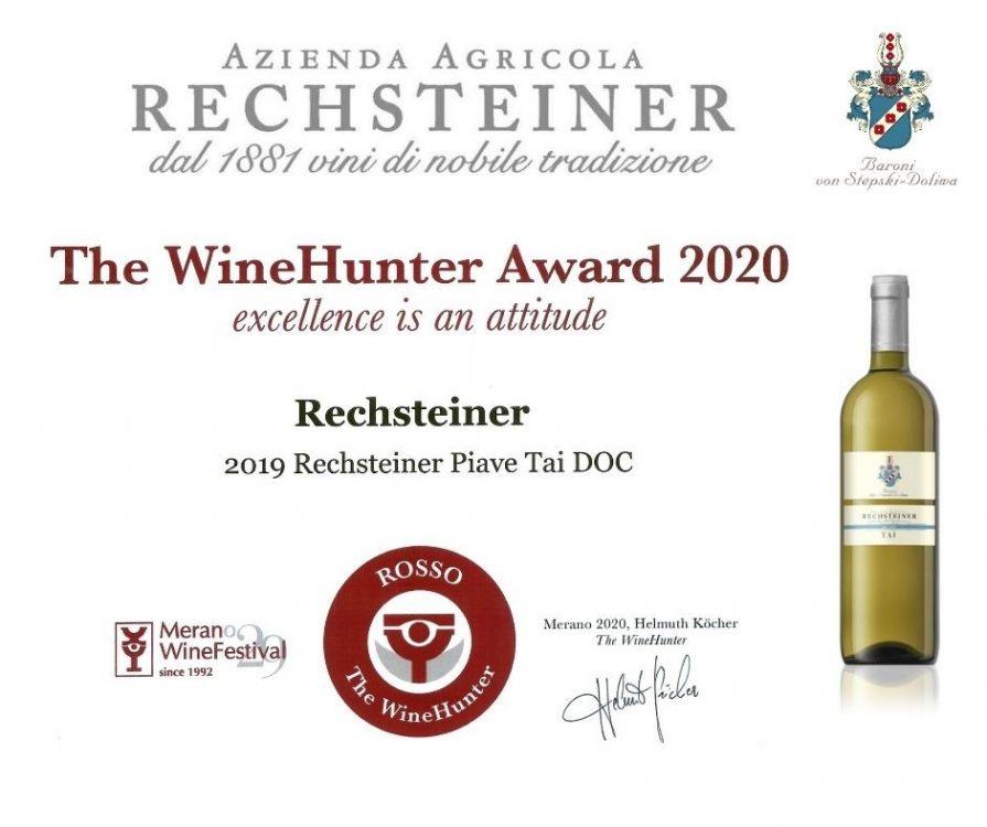 RECH_award rosso 2020_TAI 2019 PUBBLICAZIONE